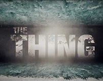 The Thing movie Intro