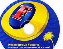 Fosters promo branding