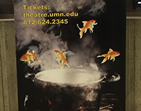 University of Minnesota Theatre & Dance Posters