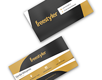Business Card Design - freestyler