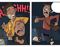 cartoon strip