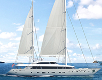 Sailing Superyacht