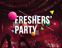 Freshers' Party Poster