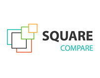 Square Compare Logo design