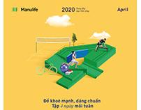 MANULIFE | 2020 Calendar