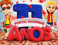 Aniversário 11 Anos Portal Shopping