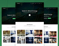 Greenergy - Solar And Alternative Energy HTML