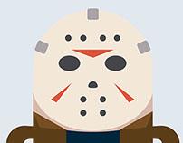 Poster Design: 30 Days of Screams Film Festival