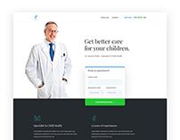 Scorn - A Landing Page for Doctors