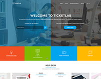 TicketLab - Helpdesk, Support, and Knowledge Base PSD