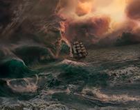 Neptune Rum - CGI