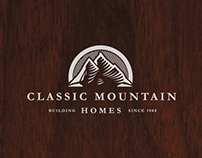 Classic Mountain Homes— Brand Identity