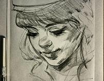 Charcoal/Portraits