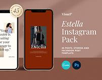 Estella Instagram Pack