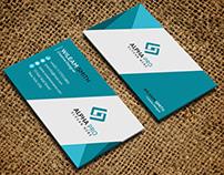 Normal Minimalist corporate design business card