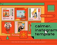 Calmer Instagram Template