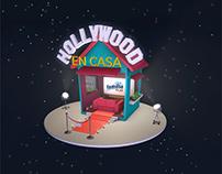 Hollywood en casa