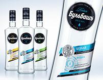 BULBASH. Redesign for the main vodka line