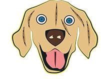 Bitmoji Dog Face