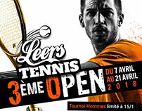 Open tennis Leers