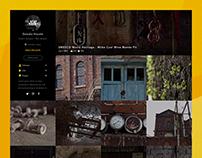 Photo AlbumSitePrototype Design /Intaraction