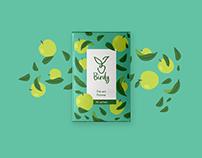 BIRDY // visual identity // packaging