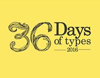 36 Days of types 2016
