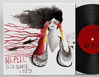 NA PELE - Pitty e Elza Soares Compact Vinyl Cover