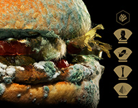 Burger King / Moldy Whopper / Integrated