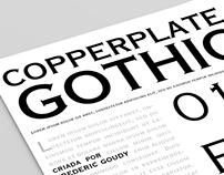 "specimen ""copperplate gothic"""
