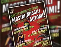 Mostri, Missili e Automi - Poster + Facebook Cover