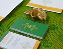 ida | Contemporary Kanchipuram silk sari brand design