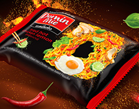 Domin Mie instant Noodle Packaging Design