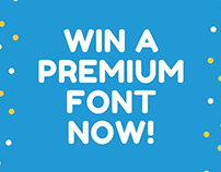 Win a Premium Font from The All Fonts Bundle now!