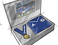Promotional Chelsea case concept drawing