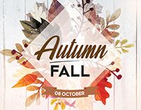 Fall Festival – Autumn Free PSD Flyer Template