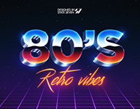 FREE | 80's Style Text Eeffect