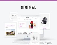 Binimal - Minimalist Theme Design