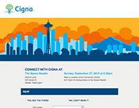 CIGNA - ICMA Event Landing Page