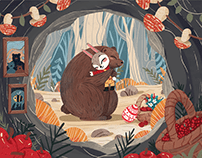 Easter Bunny Adventure Tale: Book Illustrations