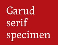 Garud typeface