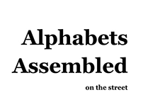 Alphabets Assembled