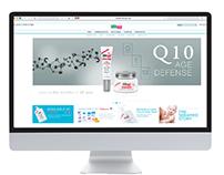 SebamedUSA Web Page Design