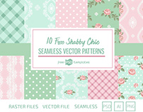 10 FREE SHABBY CHIC PATTERNS