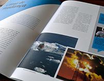 Projeto gráfico | Revista Clima Business