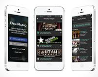 DeliRadio: App Design