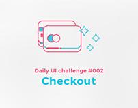 Daily UI challenge #002