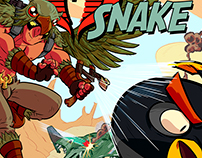 Tales of the Snake Cover