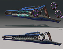 Halo beam rifle