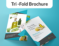 Oil & Flavours - Brochure Design